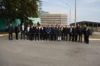 "Business tour to ""ASK Şüşə"" LLC operating within the Azerbaijan Industrial Corporation  28.11.2019"
