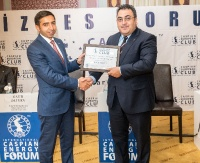 Caspian European Club holds business forum with State Agency for Mandatory Medical Insurance  29.08.2018