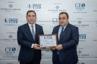 CEO Lunch with Mr.Taleh Ziyadov,  Director-General of Baku International Sea Trade Port in Azerbaijan  12.02.2020